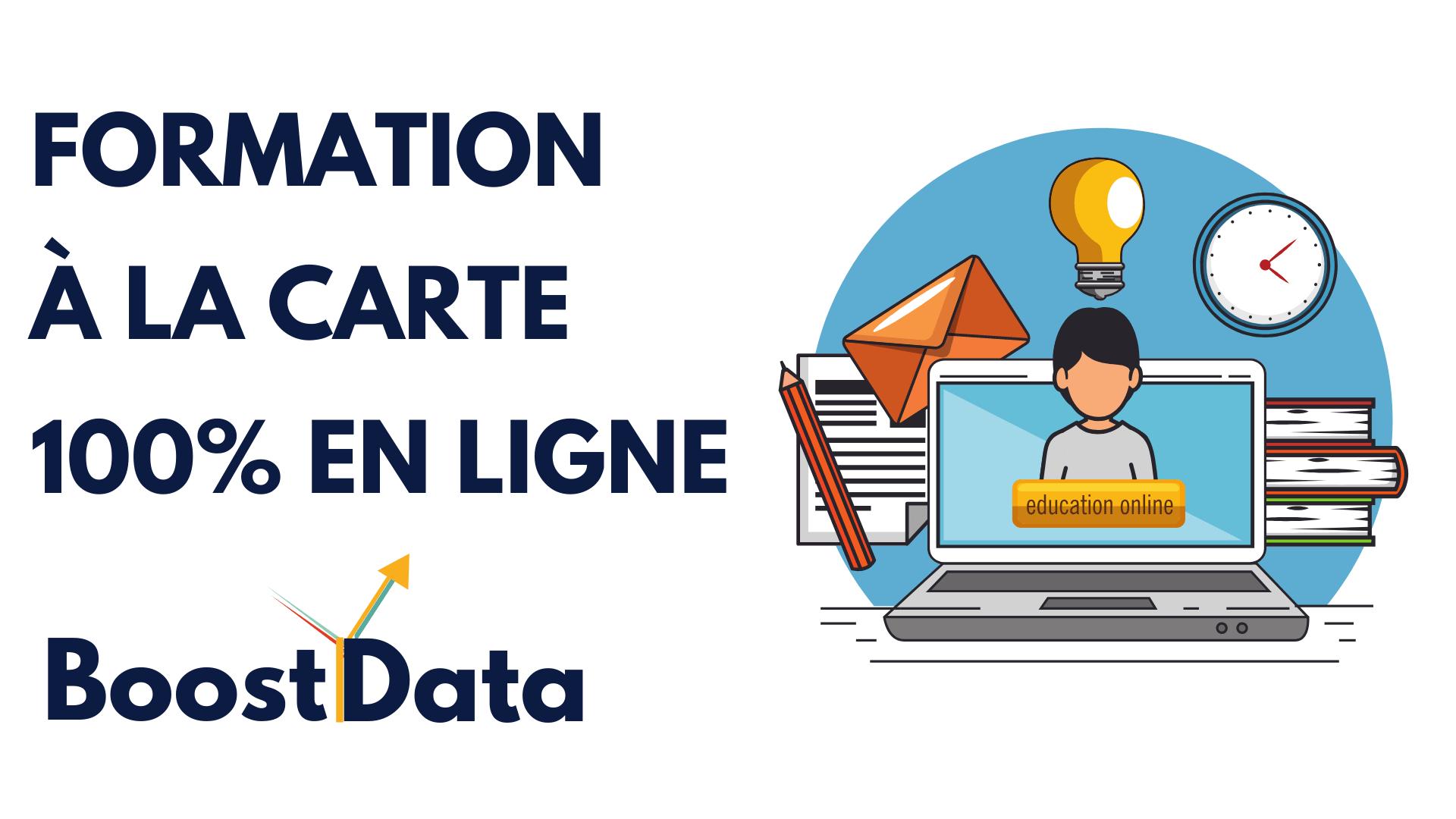 Formation spéciale en e-learning proposée par BoostYData